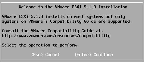 VMware ESXI5.0升级到ESXI5.1